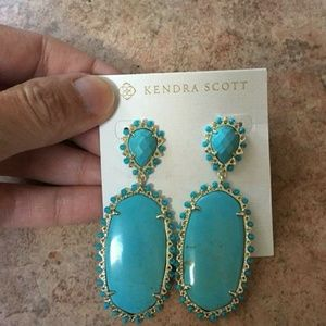 Turquoise PARSONS set in gold